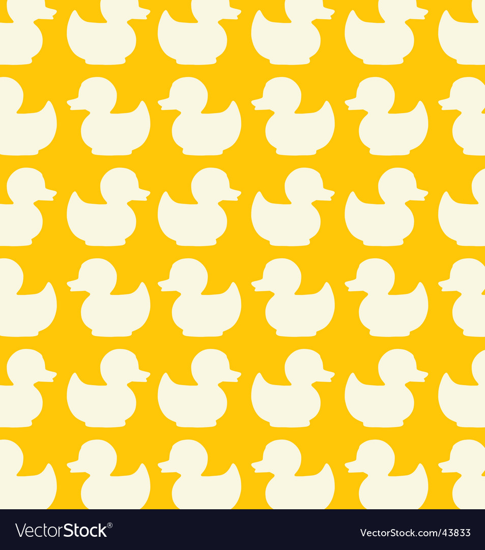 Duck seamless pattern vector | Price: 1 Credit (USD $1)