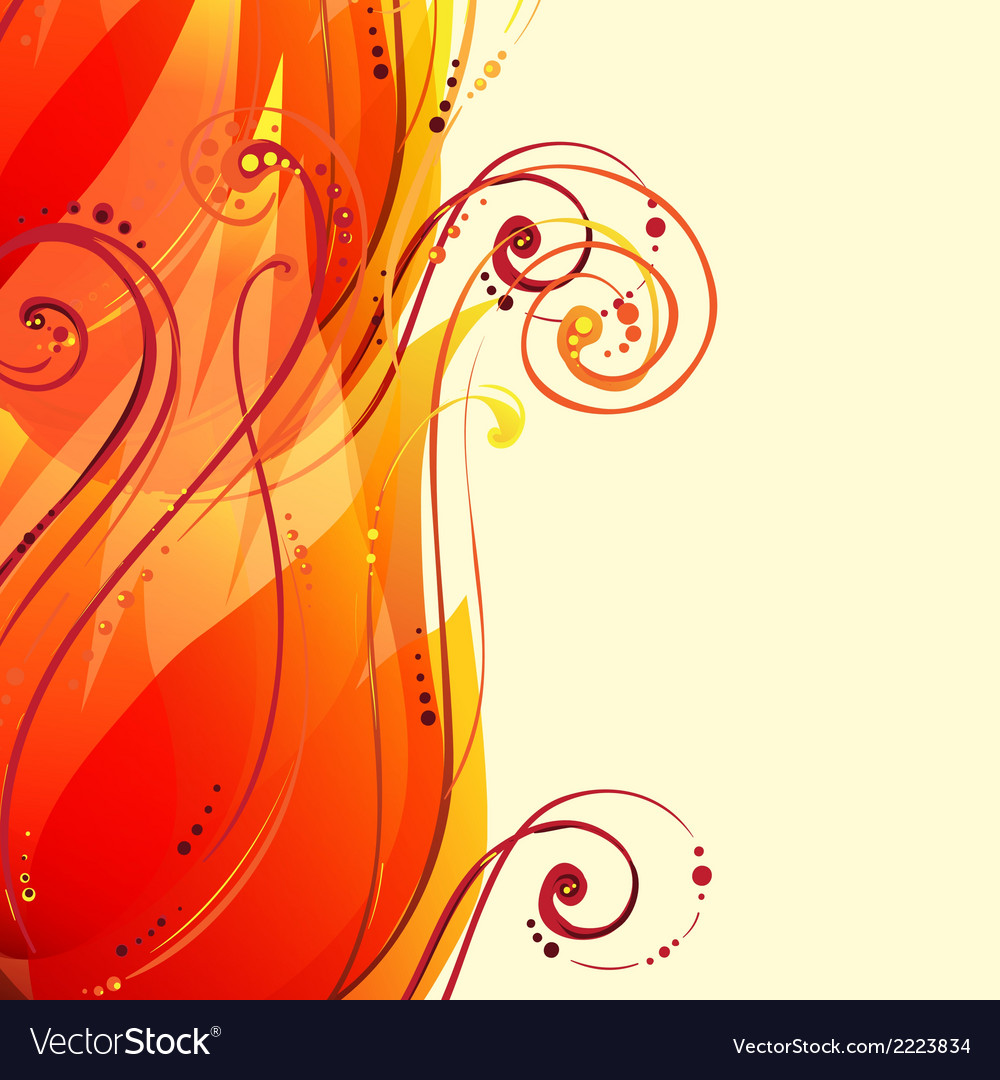 Abstract wave light background vector | Price: 1 Credit (USD $1)