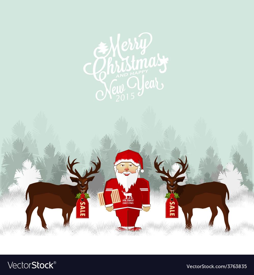 Christmas background design vector