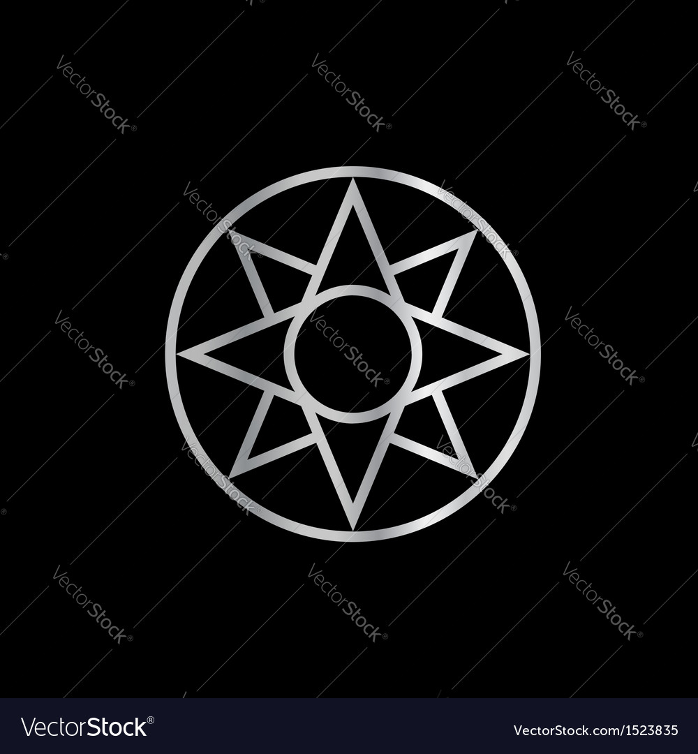 The ishtar star mesopotamian vector | Price: 1 Credit (USD $1)