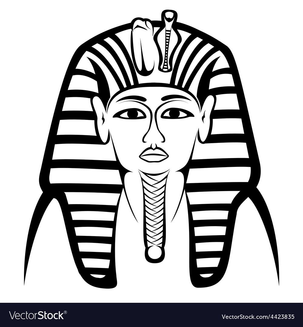 Tutankhamen vector | Price: 1 Credit (USD $1)