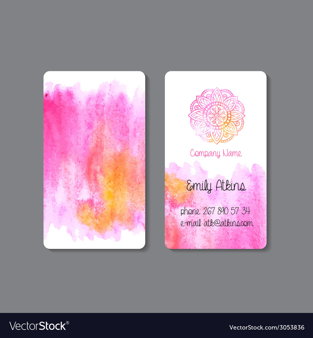 Business card 1 vector | Price: 1 Credit (USD $1)