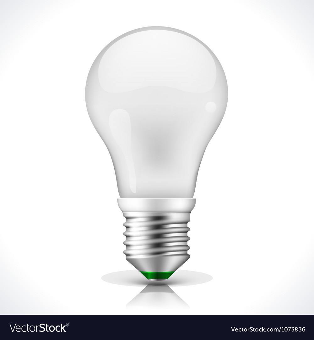 Energy saving lamp vector | Price: 1 Credit (USD $1)
