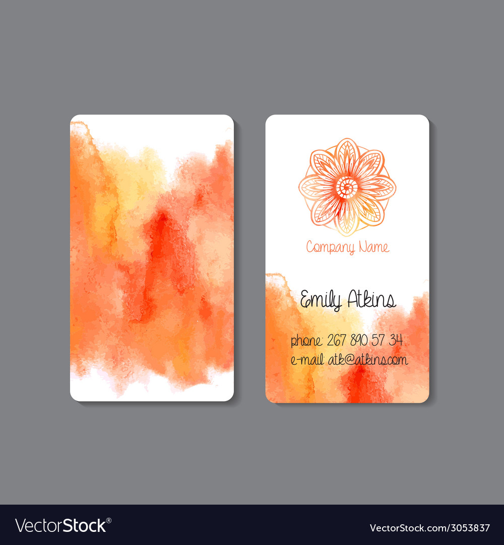Business card 2 vector   Price: 1 Credit (USD $1)