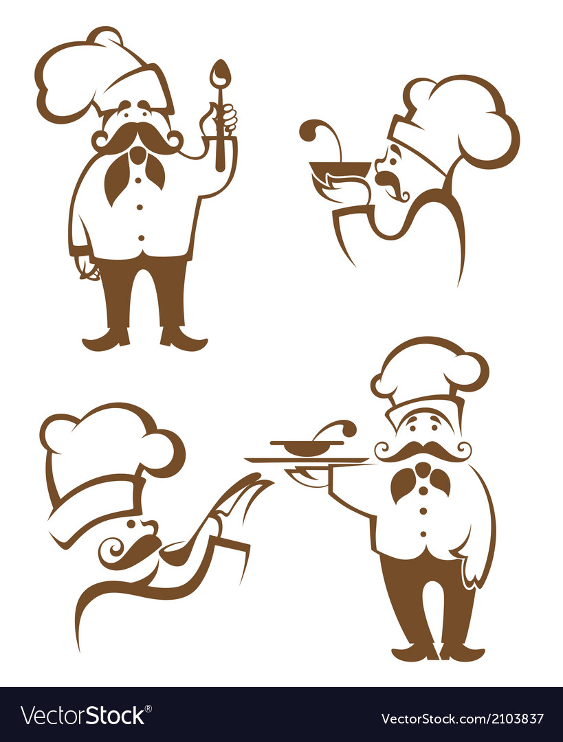 Chef collection vector | Price: 1 Credit (USD $1)