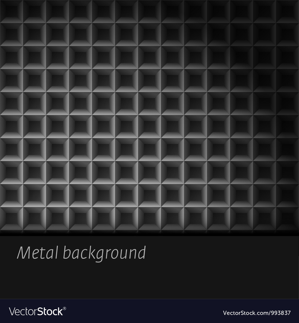 Dark metal background vector | Price: 1 Credit (USD $1)
