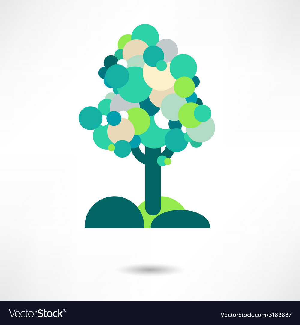 Tree emblem 2 vector | Price: 1 Credit (USD $1)
