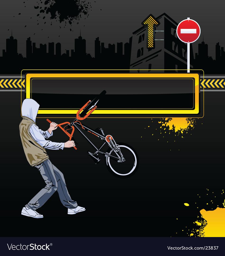Urban background vector | Price: 3 Credit (USD $3)