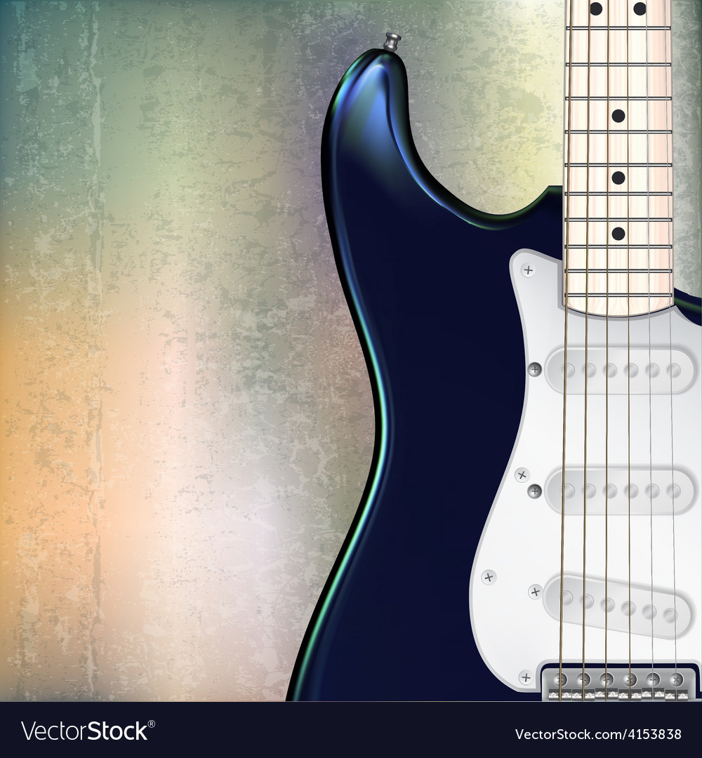 Abstract grunge jazz rock background with blue vector | Price: 3 Credit (USD $3)