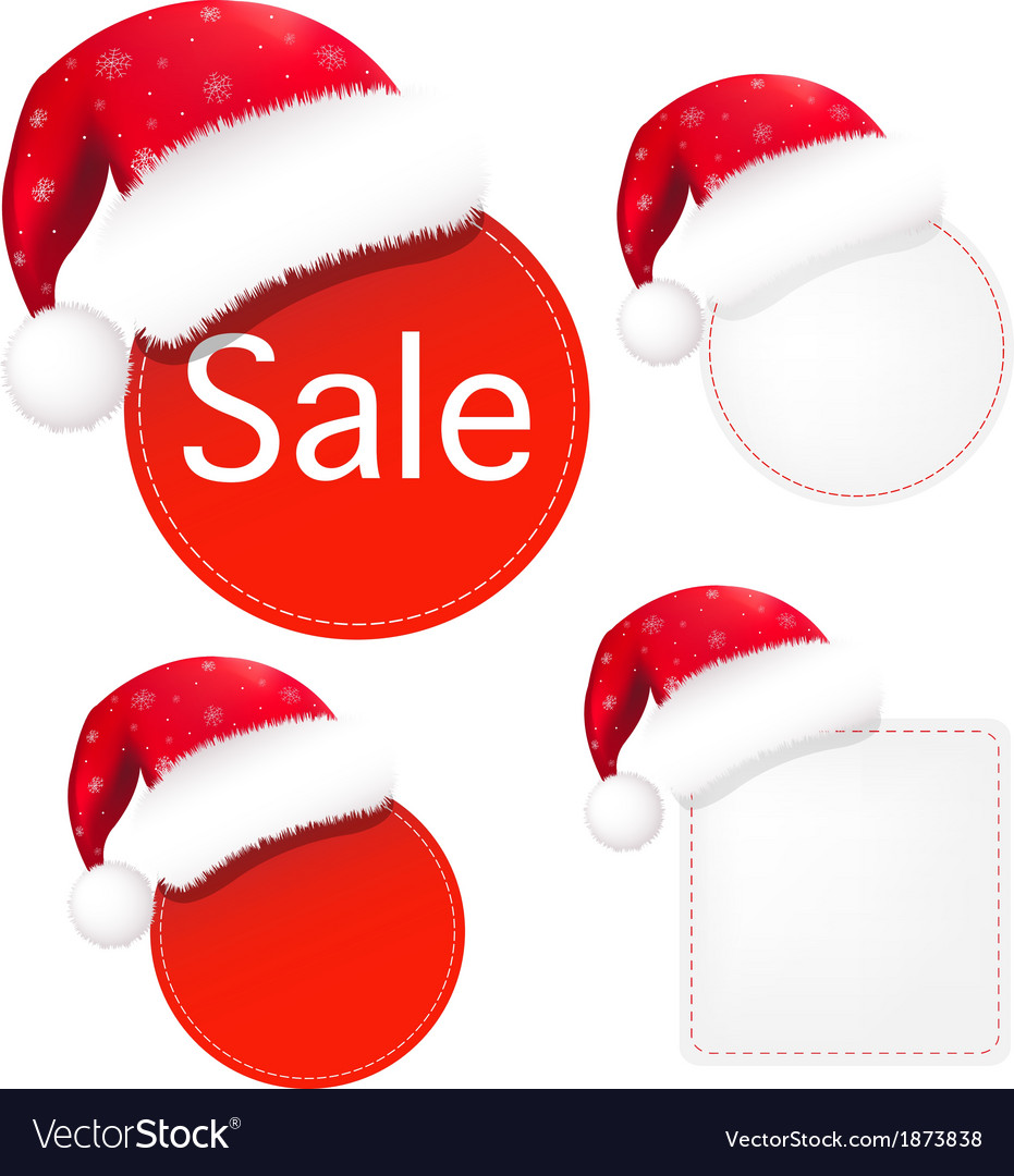 Christmas banners set vector | Price: 1 Credit (USD $1)