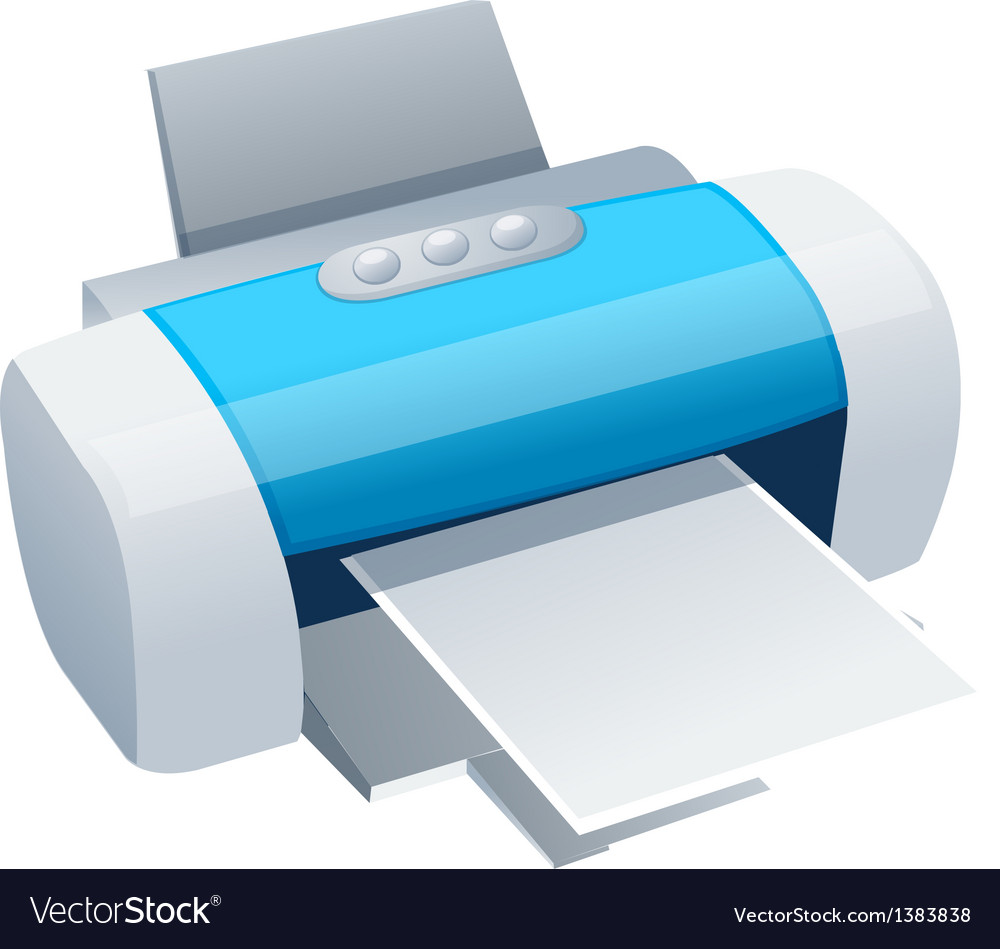 Icon printer vector | Price: 1 Credit (USD $1)