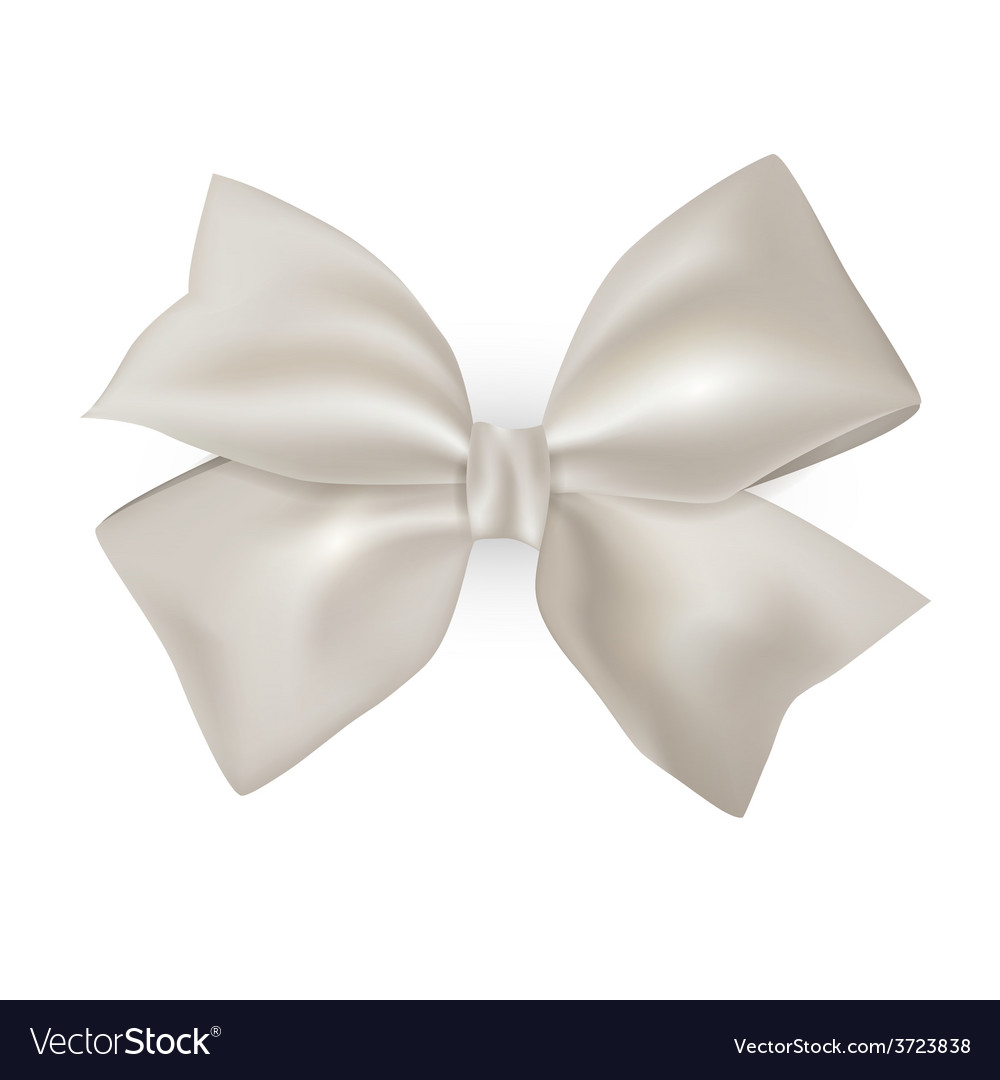 Isolated blue photorealistic silk bow for your vector | Price: 1 Credit (USD $1)