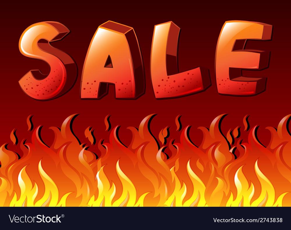 Sale artwork vector | Price: 1 Credit (USD $1)