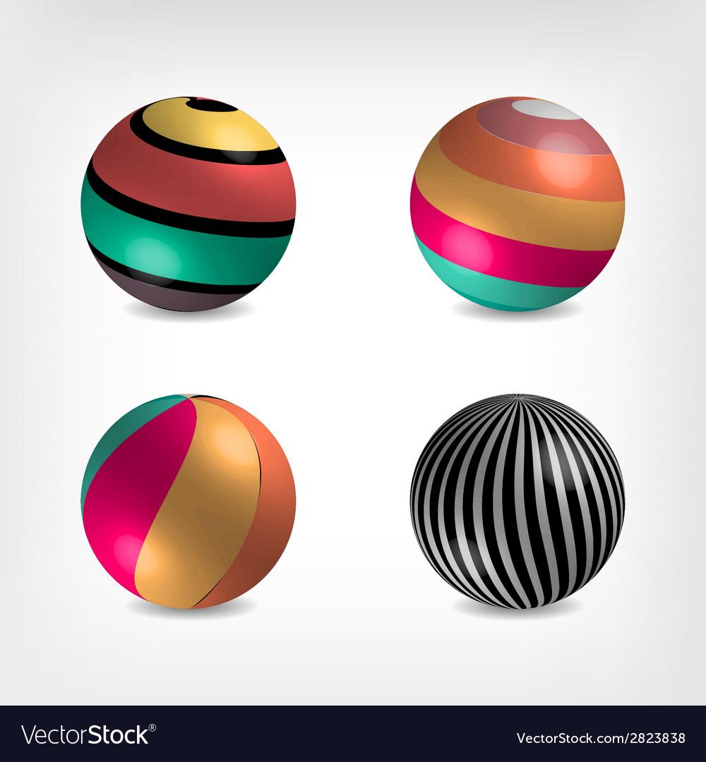 Volume balls vector | Price: 1 Credit (USD $1)