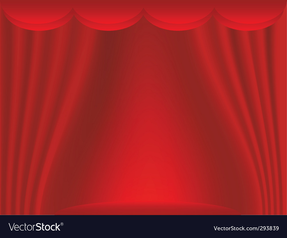 Curtain backdrop vector | Price: 1 Credit (USD $1)