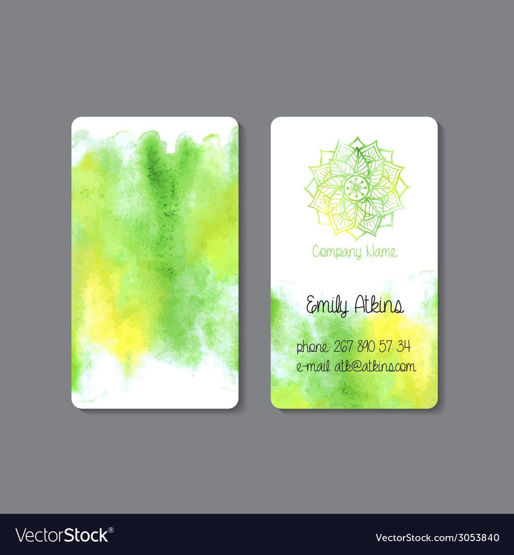Business card 3 vector | Price: 1 Credit (USD $1)