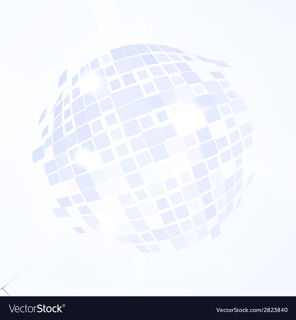Disco ball explosion vector | Price: 1 Credit (USD $1)
