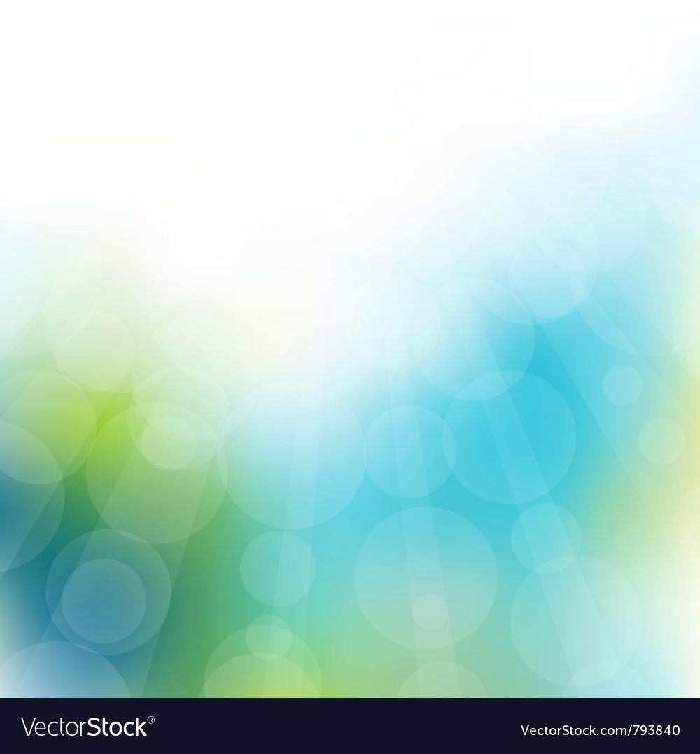 Spring green background colors with the sun vector | Price: 1 Credit (USD $1)