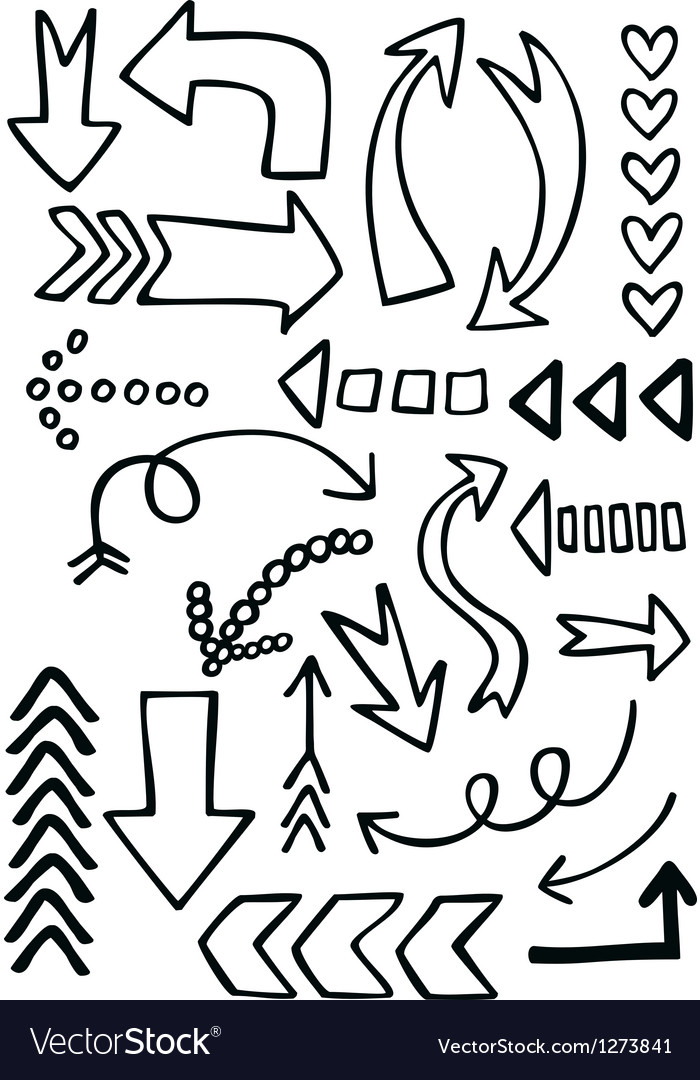 Arrow icons vector | Price: 1 Credit (USD $1)
