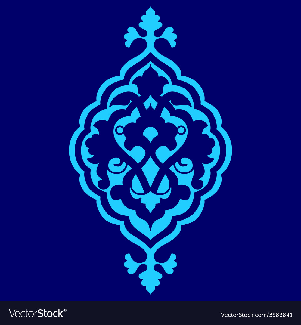 Artistic ottoman pattern series sixty seven vector | Price: 1 Credit (USD $1)