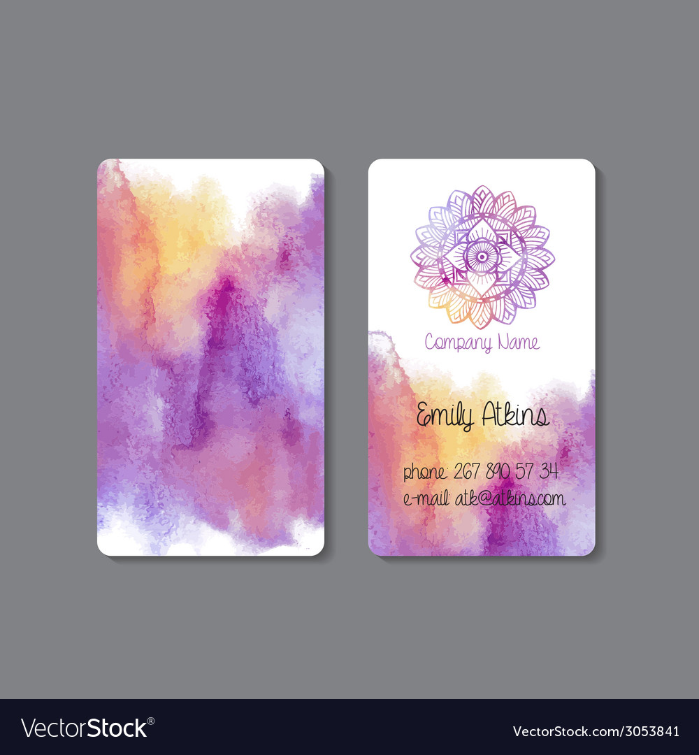 Business card 4 vector | Price: 1 Credit (USD $1)