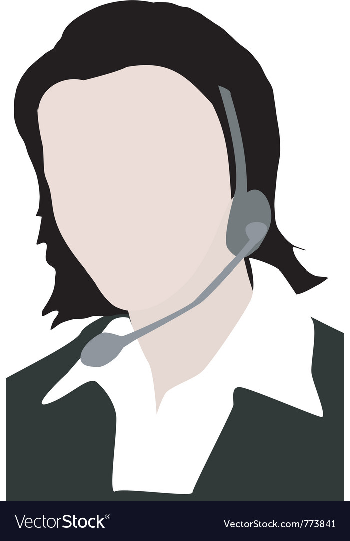 Calling center staff vector | Price: 1 Credit (USD $1)