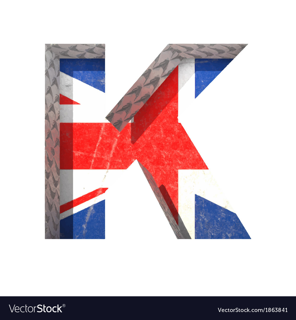 Great britain cutted figure k paste to any vector   Price: 1 Credit (USD $1)