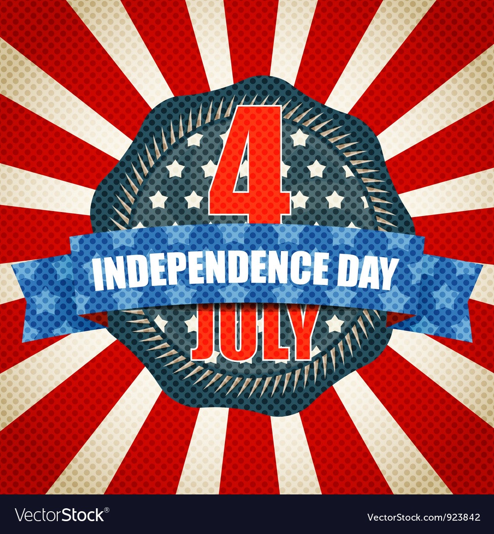 The independence day vector | Price: 1 Credit (USD $1)