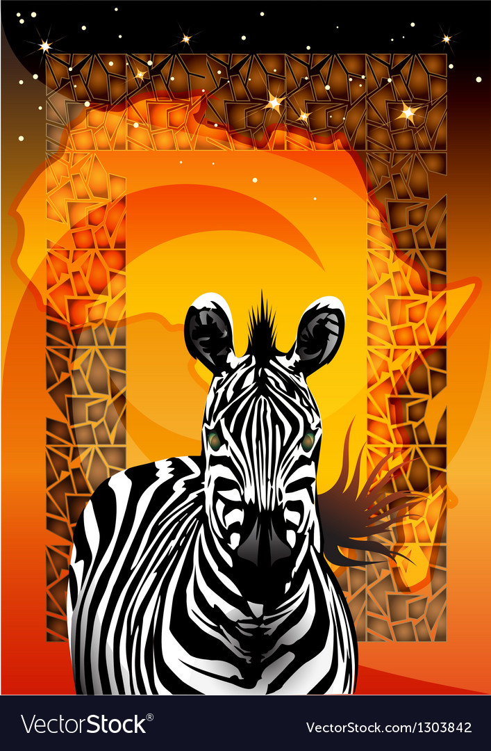 Zebra vector | Price: 3 Credit (USD $3)