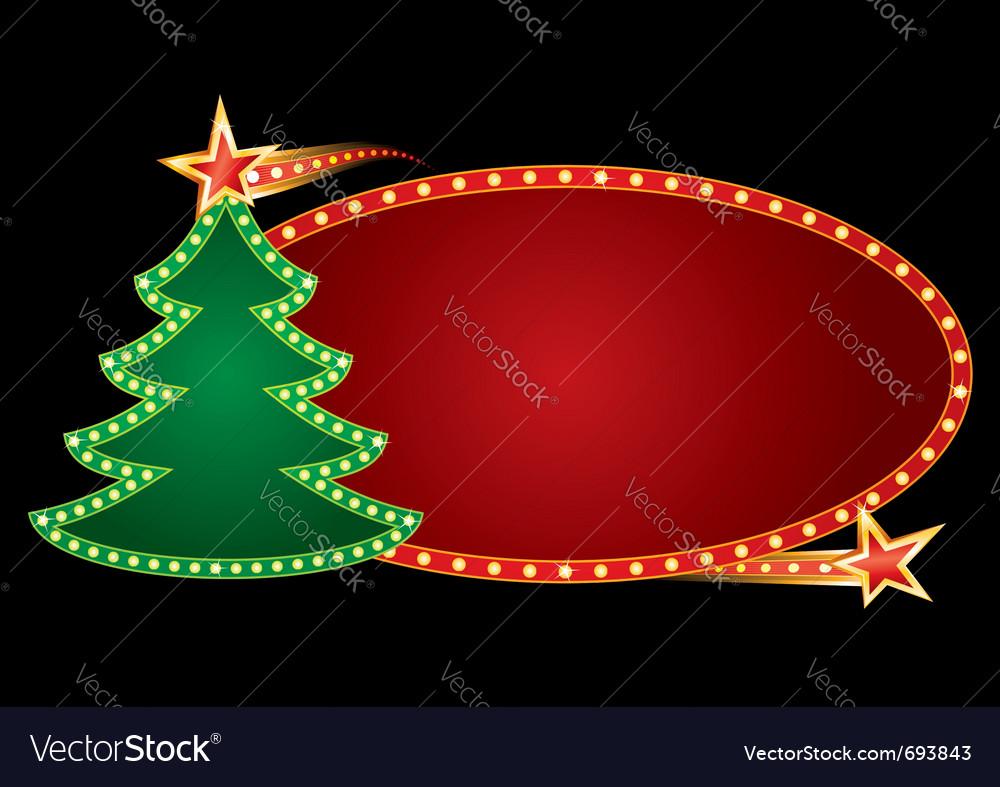 Christmas neon vector | Price: 1 Credit (USD $1)