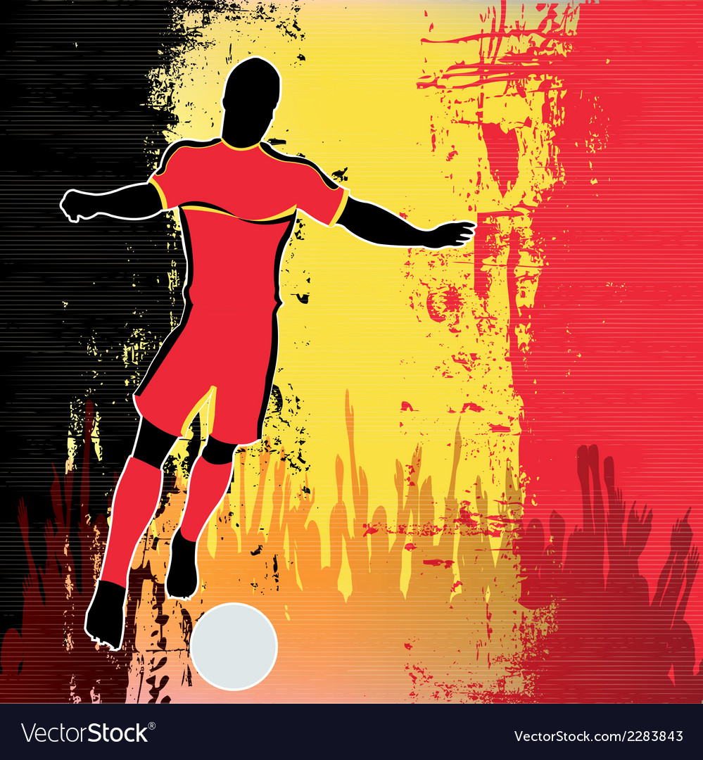 Football belgium vector | Price: 1 Credit (USD $1)