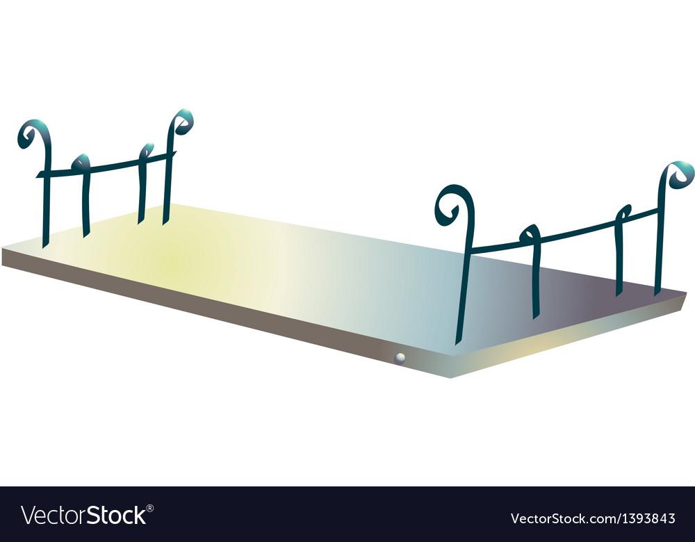 Icon veranda vector | Price: 1 Credit (USD $1)