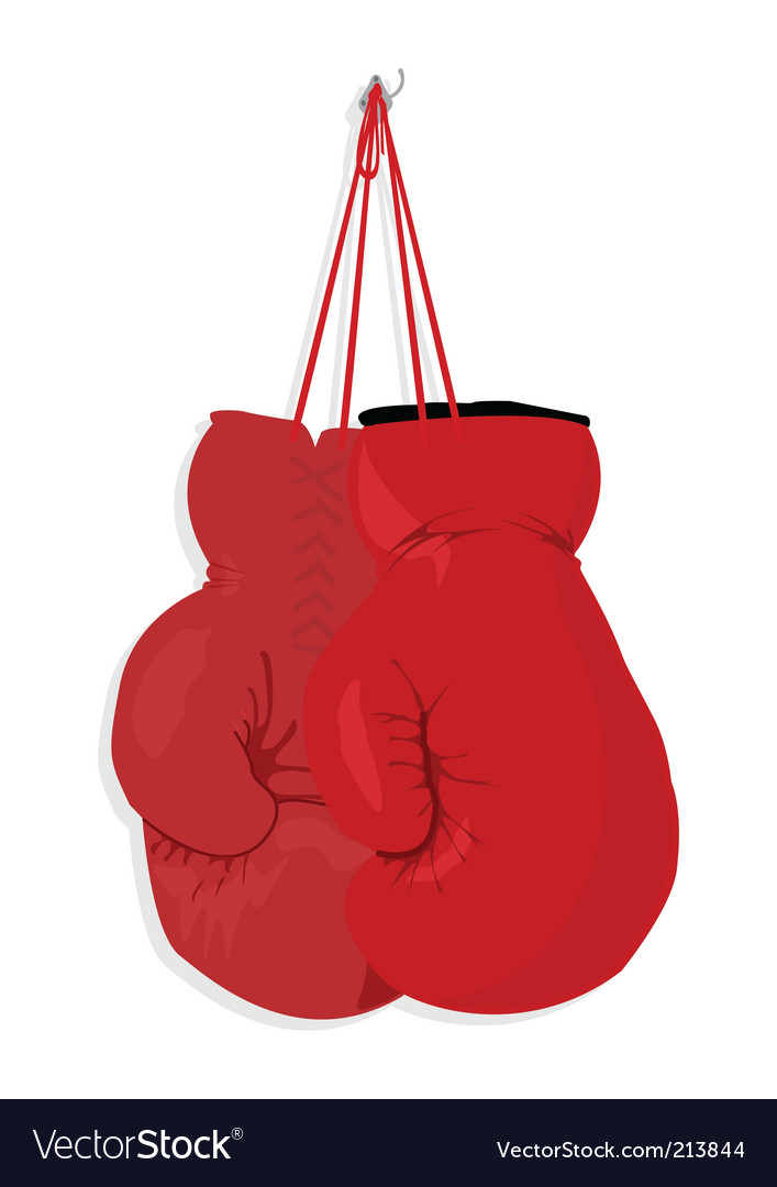 Boxing gloves vector | Price: 1 Credit (USD $1)