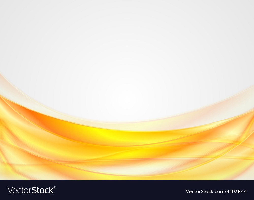Bright abstract smooth wavy background vector   Price: 1 Credit (USD $1)