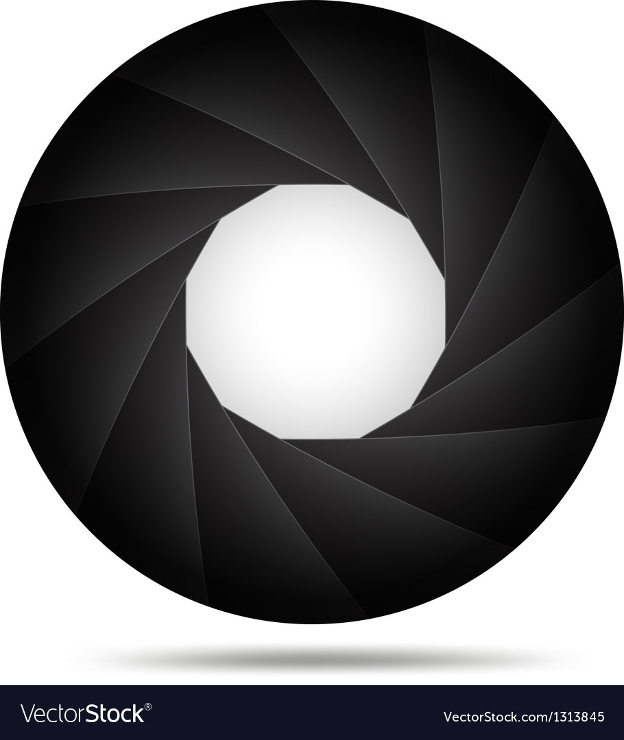 Aperture background vector | Price: 1 Credit (USD $1)