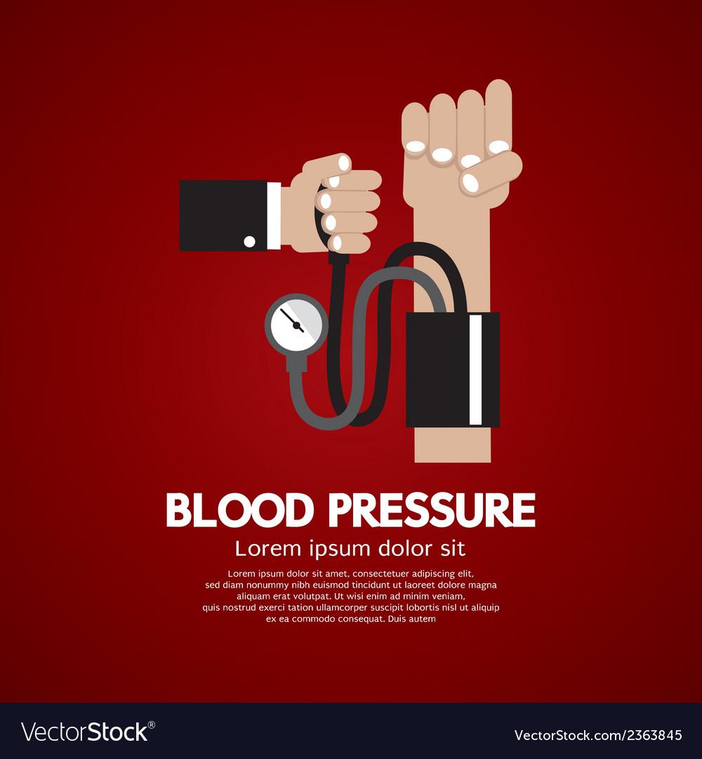 Blood pressure vector | Price: 1 Credit (USD $1)