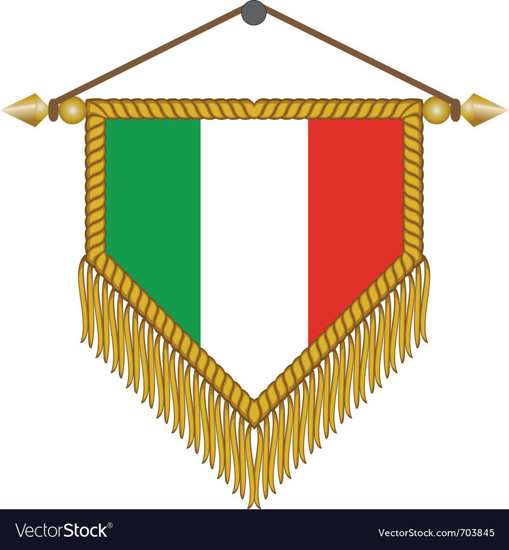 Flag of italy vector   Price: 1 Credit (USD $1)