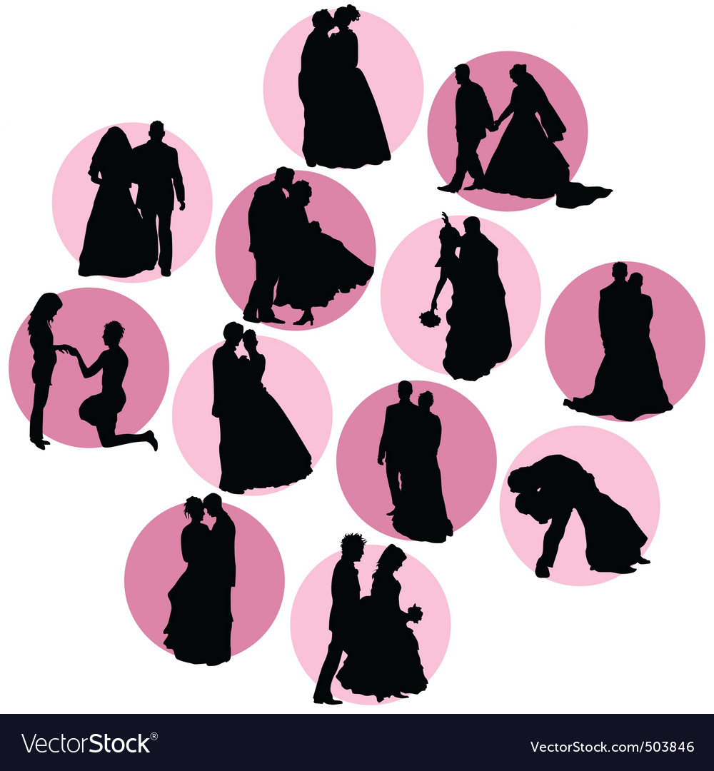 Couple in love vector | Price: 1 Credit (USD $1)