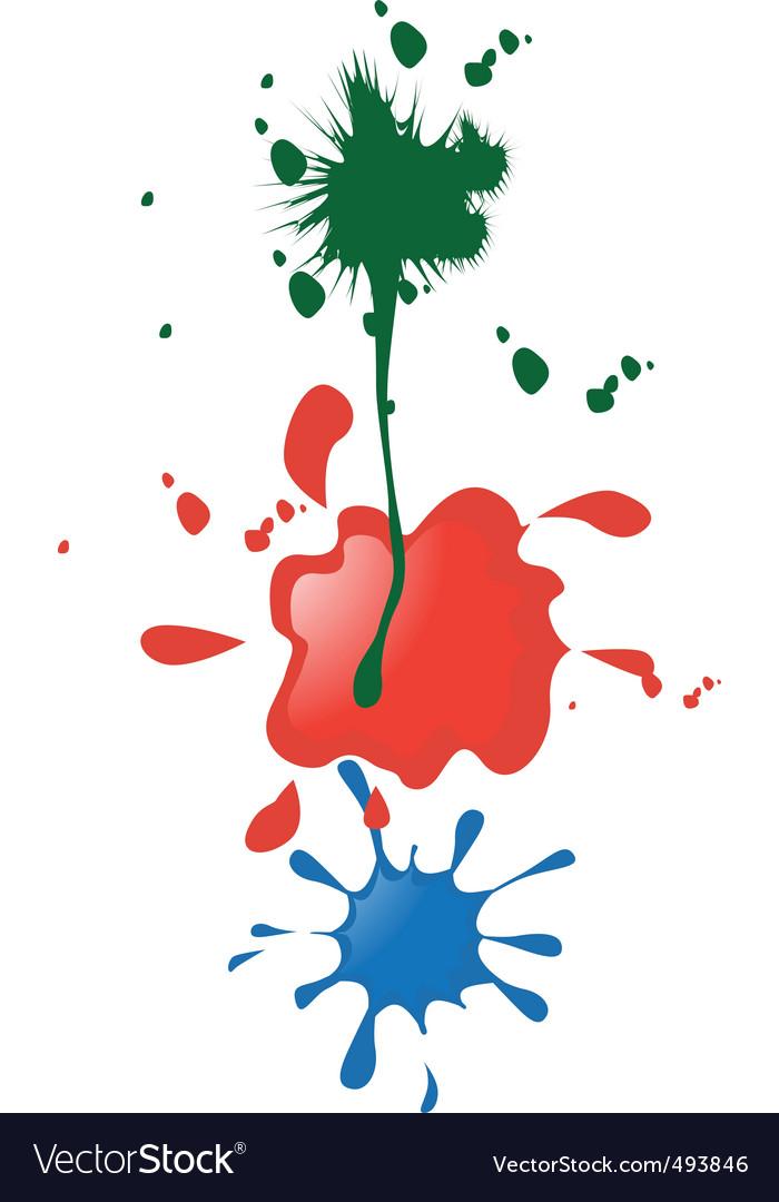 Paint blobs vector   Price: 1 Credit (USD $1)