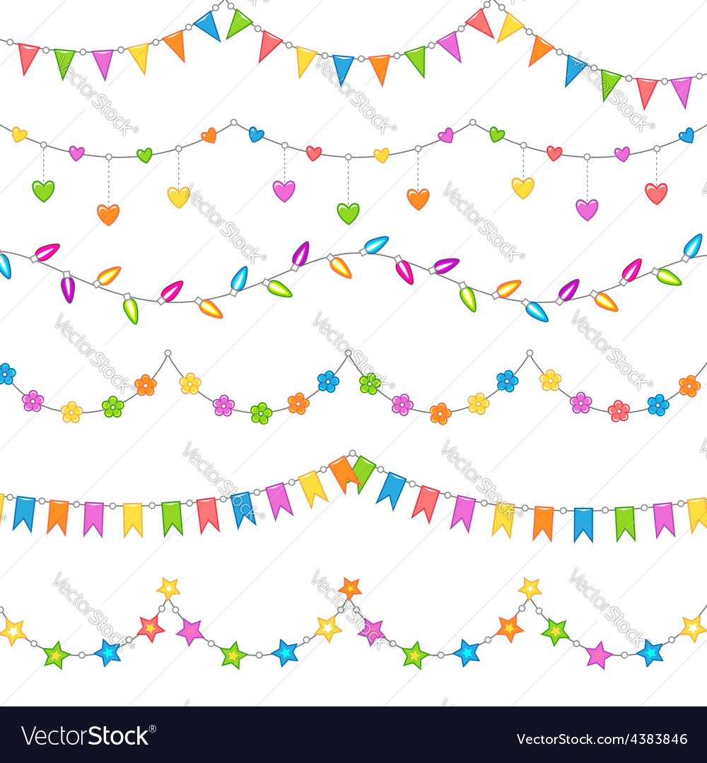 Party decoration white vector | Price: 1 Credit (USD $1)