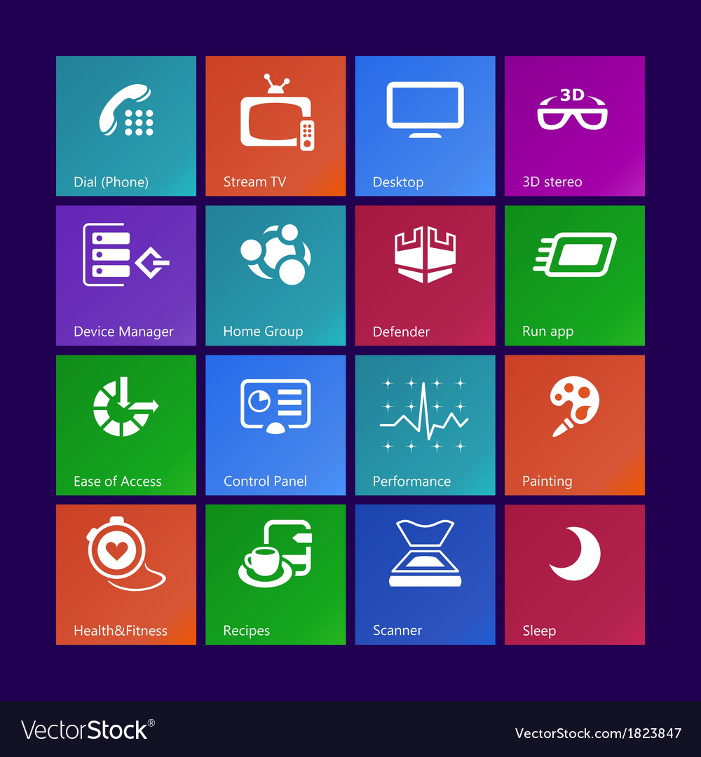 System icons - set iv vector   Price: 1 Credit (USD $1)