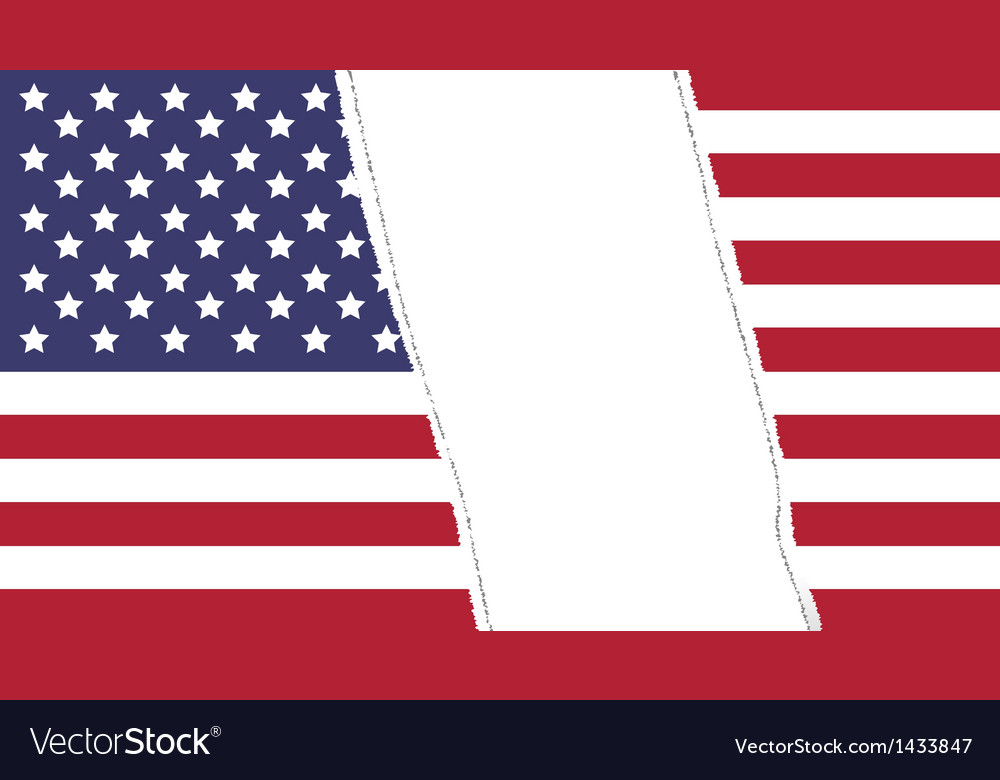 Torn flag vector | Price: 1 Credit (USD $1)