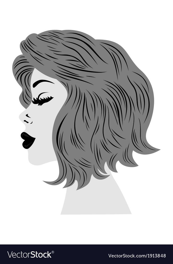 Female profile vector   Price: 1 Credit (USD $1)