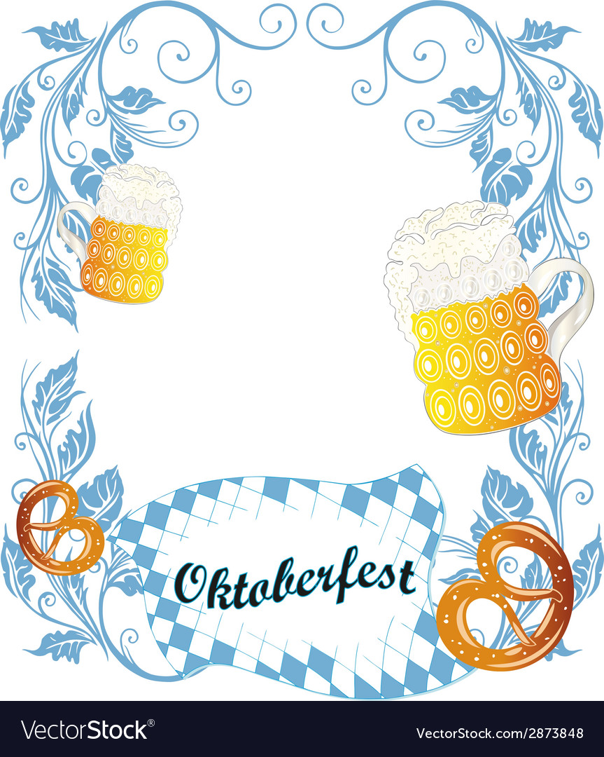 Oktoberfest poster vector | Price: 1 Credit (USD $1)