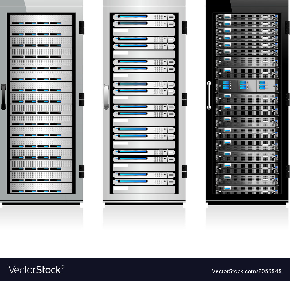 Servers vector | Price: 1 Credit (USD $1)