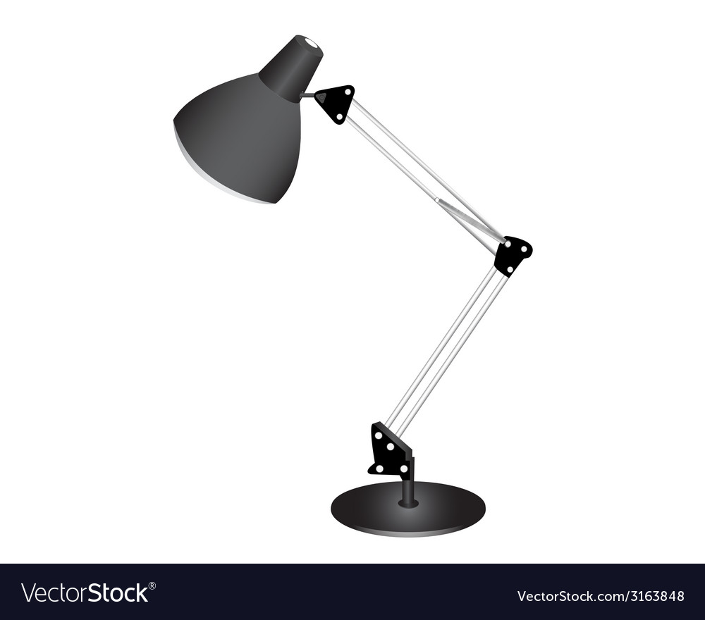 Tabletop lamp vector | Price: 1 Credit (USD $1)