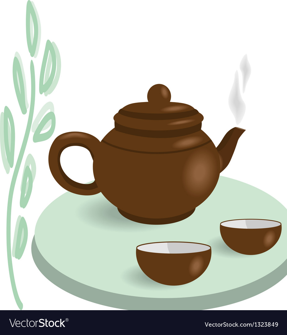 Chinese tea vector | Price: 1 Credit (USD $1)