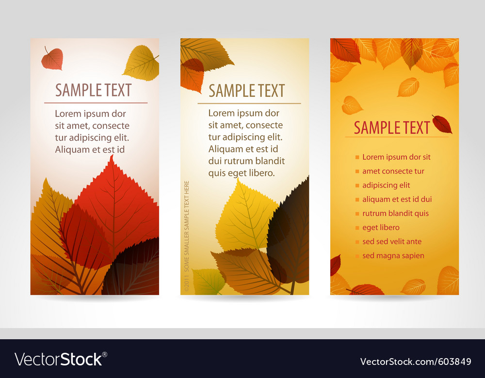 Fresh natural banners vector | Price: 1 Credit (USD $1)