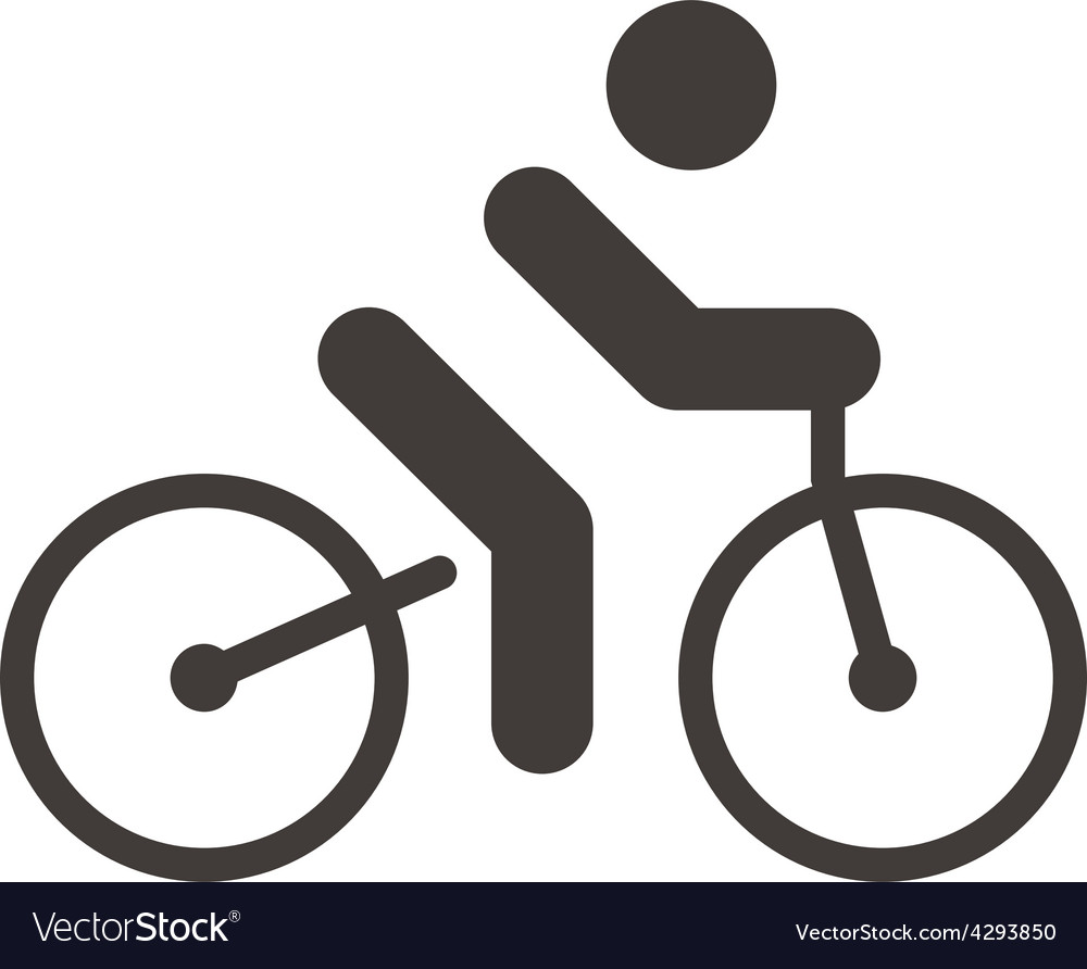 Cycling road icon vector   Price: 1 Credit (USD $1)