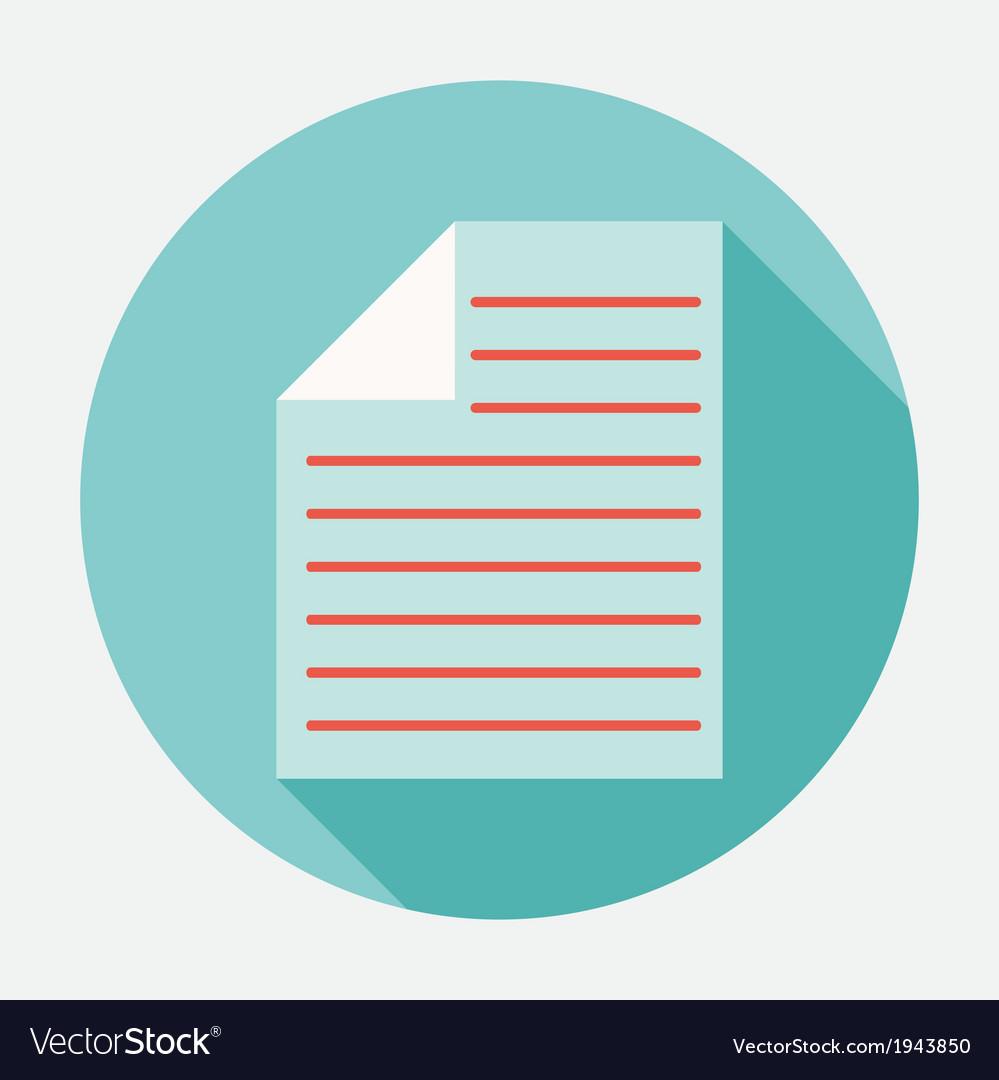 Documents icon vector | Price: 1 Credit (USD $1)